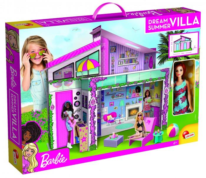 Куклы и одежда для кукол Barbie Летняя вилла с настоящей Барби