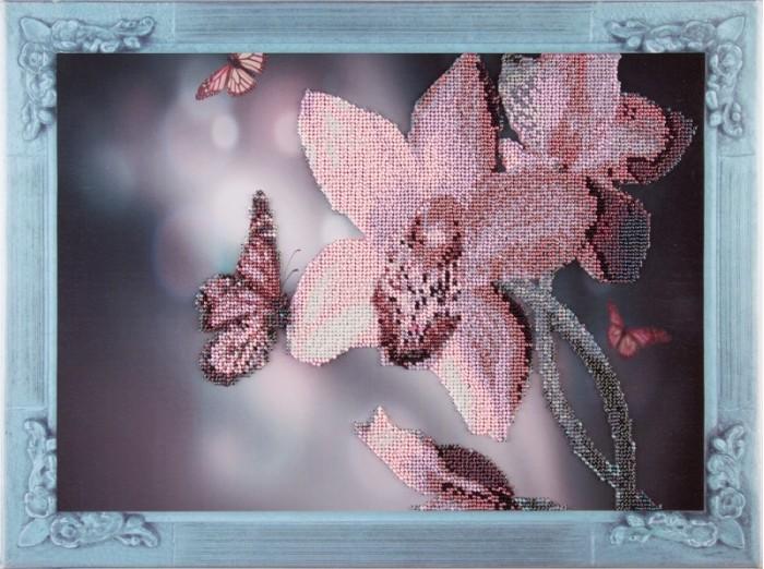 Наборы для вышивания Color Kit Набор для вышивания бисером Нежная орхидея набор для вышивания color kit вышивка бисером 551