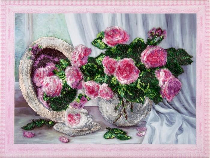 Купить Наборы для вышивания, Color Kit Набор для вышивания бисером Розовые розы