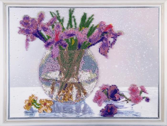 Наборы для вышивания Color Kit Набор для вышивания бисером Дыхание весны набор для вышивания color kit вышивка бисером 551