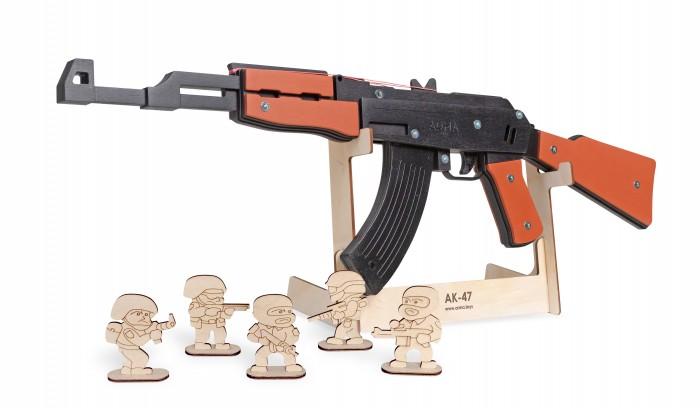 Arma.toys Резинкострел Автомат окрашенный