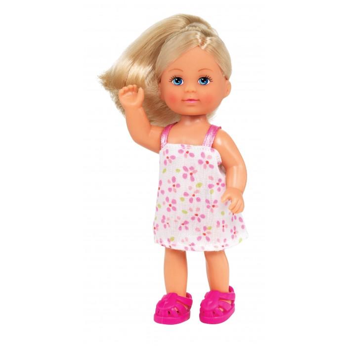 Куклы и одежда для кукол Simba Кукла Еви в сарафане 12 см