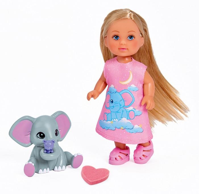 Купить Куклы и одежда для кукол, Simba Кукла Еви со слоненком 12 см