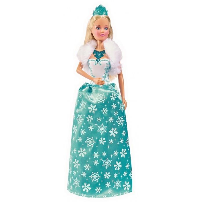 Купить Куклы и одежда для кукол, Simba Кукла Штеффи Снежная королева 29 см