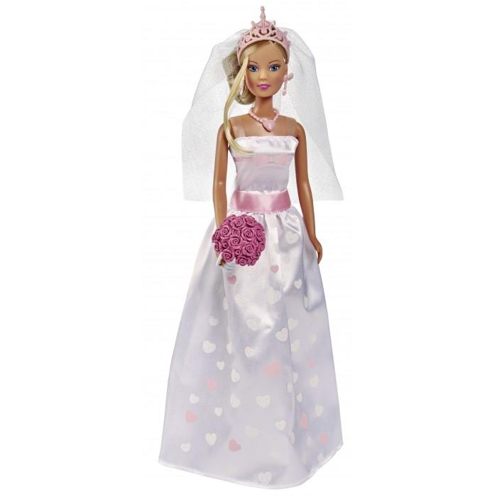 Купить Куклы и одежда для кукол, Simba Куклы Штеффи и Еви Набор Свадебный день