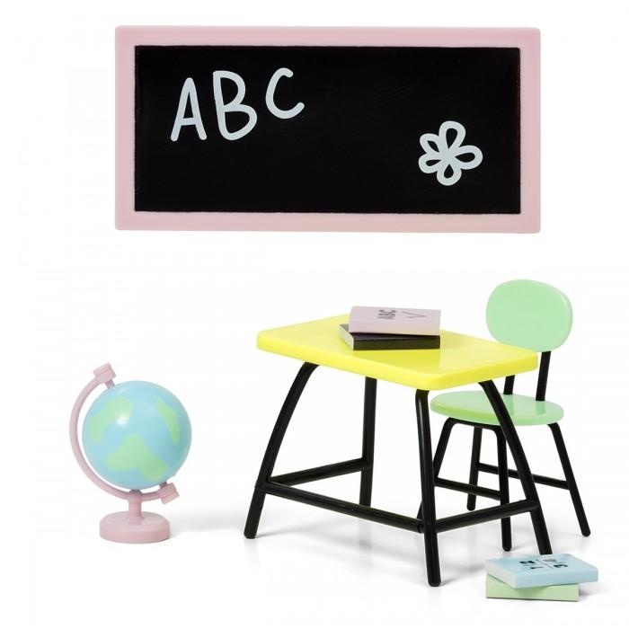 Кукольные домики и мебель Lundby Набор мебели для домика Школа кукольные домики и мебель lundby набор мебели для домика кухонный остров и холодильник