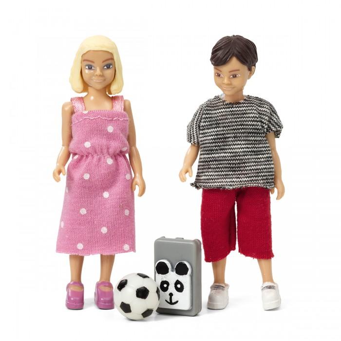 Картинка для Куклы и одежда для кукол Lundby Набор кукол для домика Школьники