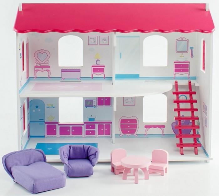 Paremo Кукольный дом Виктория с интерьером и мебелью (5 предметов) фото