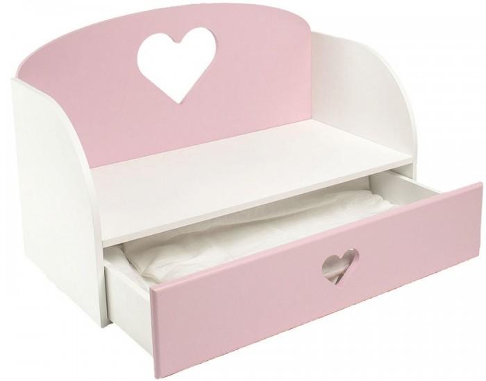 Купить Кроватка для куклы Paremo Диван Сердце в интернет магазине. Цены, фото, описания, характеристики, отзывы, обзоры