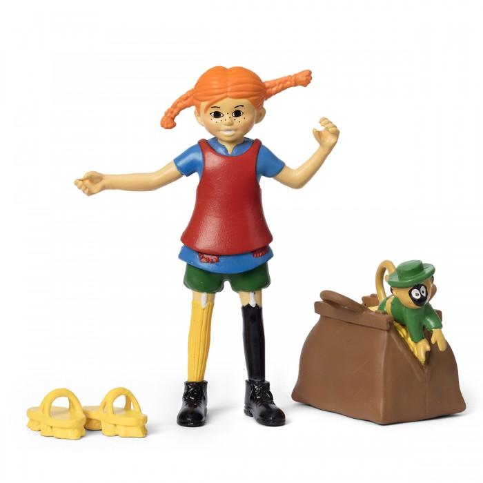 Игровые фигурки Micki Набор кукол для домика Пеппи и обезьянка