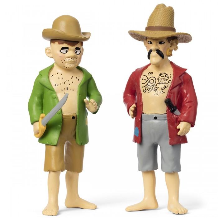 Игровые фигурки Micki Набор кукол для домика Пеппи Пираты