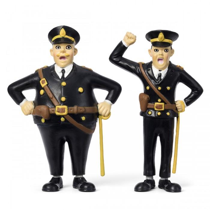 Игровые фигурки Micki Набор кукол для домика Пеппи Полицейские