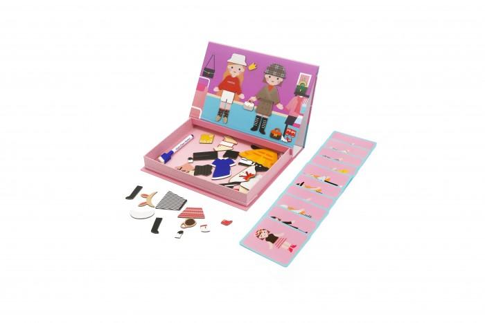 Купить Игры для малышей, MierEdu Магнитный игровой набор Одежда 2 в 1
