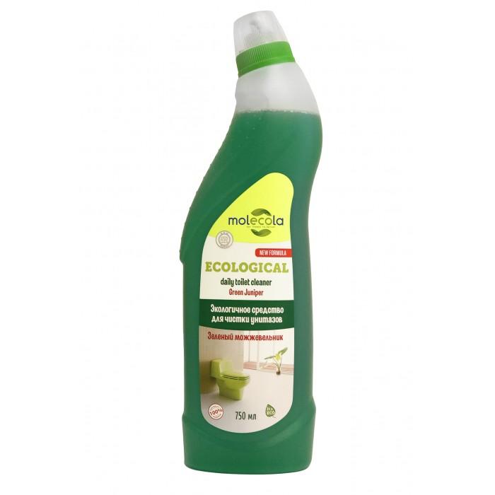 Бытовая химия Molecola Средство для чистки унитазов  и сантехники Зеленый можжевельник 500 мл средство для чистки стекла karcher ca 40 r 500 мл