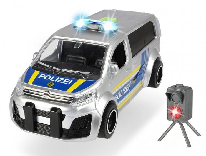 Купить Машины, Dickie Полицейский минивэн Citroen SpaceTourer с радаром 15 см