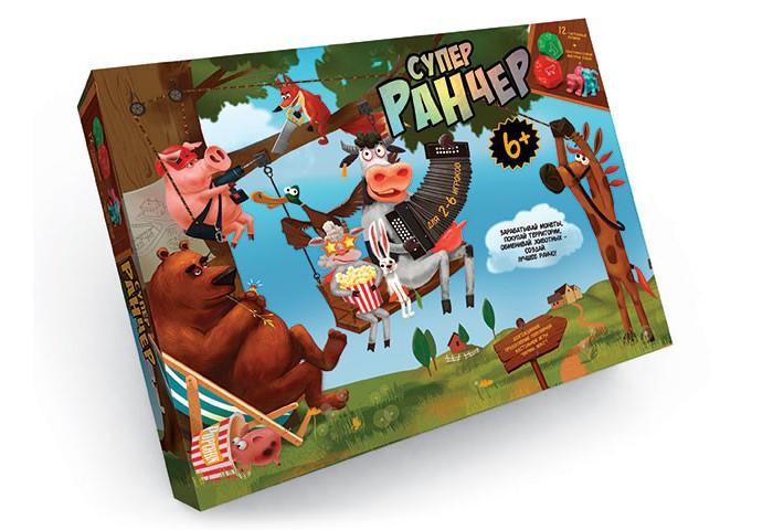 Настольные игры Danko Toys Настольная игра Супер Ранчер большая