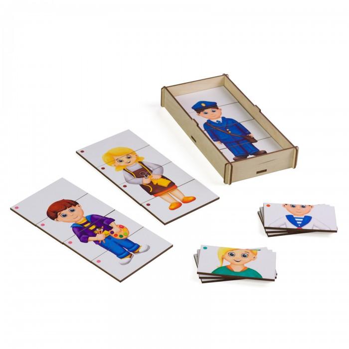 корзины составные из водного гиацинта 3 шт Деревянные игрушки Paremo Игровой набор Составные картинки Профессии 3