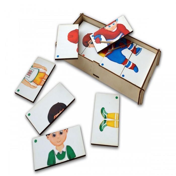 корзины составные из водного гиацинта 3 шт Деревянные игрушки Paremo Игровой набор Составные картинки Спорт 2
