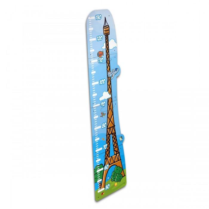 Деревянные игрушки Paremo Ростомер Эйфелева башня