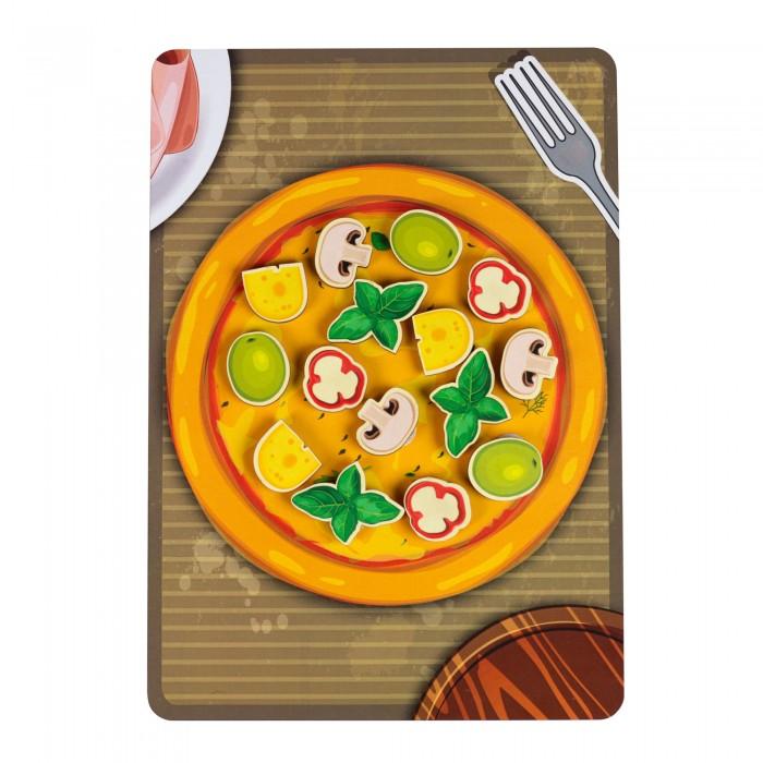 Купить Деревянная игрушка Paremo Игровой набор Липучка Пицца грибная в интернет магазине. Цены, фото, описания, характеристики, отзывы, обзоры