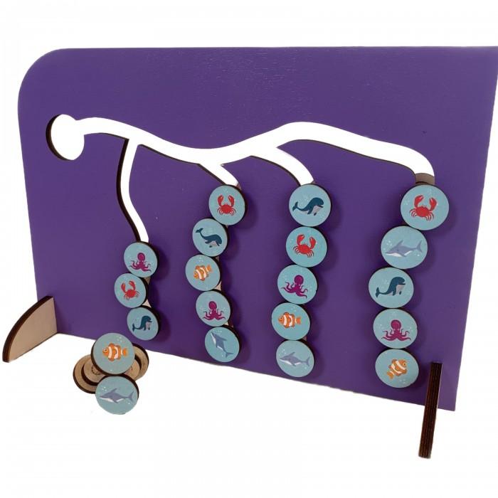 Купить Деревянная игрушка Paremo Сортер Морские обитатели в интернет магазине. Цены, фото, описания, характеристики, отзывы, обзоры