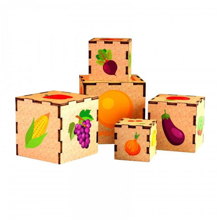 Деревянная игрушка Paremo Сортер пирамидка Цвета