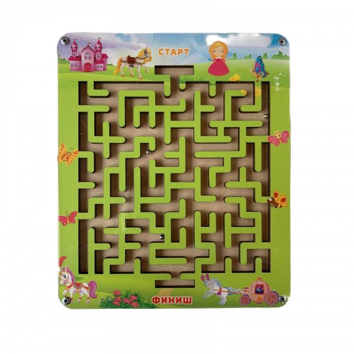 Купить Деревянные игрушки, Деревянная игрушка Paremo Лабиринт с шариком Маленькая Принцесса