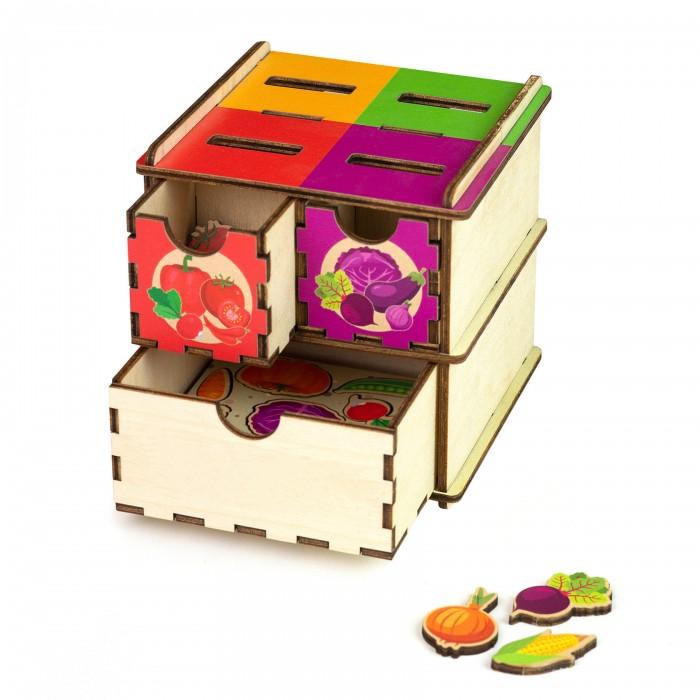 Деревянная игрушка Paremo Сортер Овощи фото