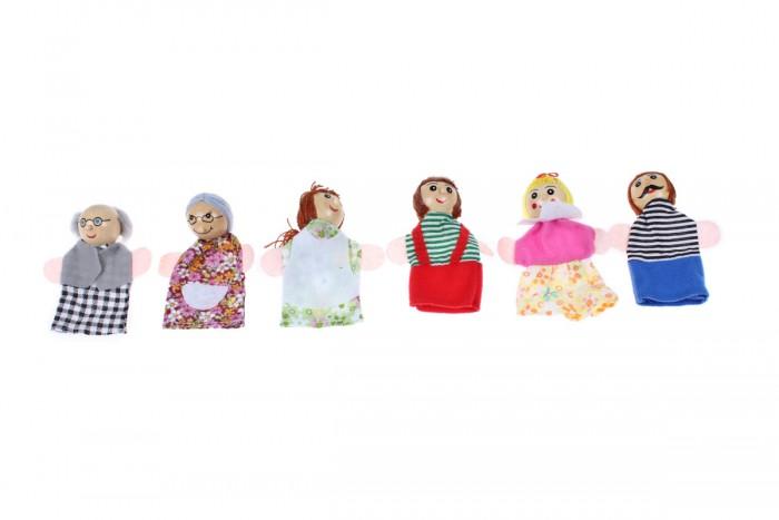 Ролевые игры Bradex Детский пальчиковый кукольный театр Семья