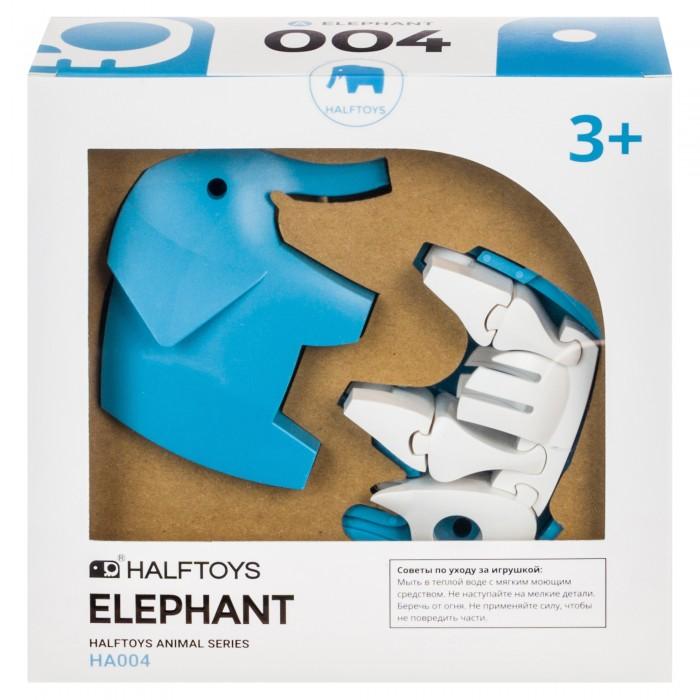 Купить Конструкторы, Конструктор Halftoys Набор пластмассовых деталей для сборки Слона