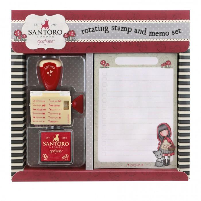 Купить Канцелярия, Santoro London Канцелярский набор со штампом Little Red Riding Hood