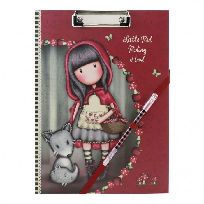 Купить Канцелярия, Santoro London Планер с зажимом и ручкой Little Red Rising Hood
