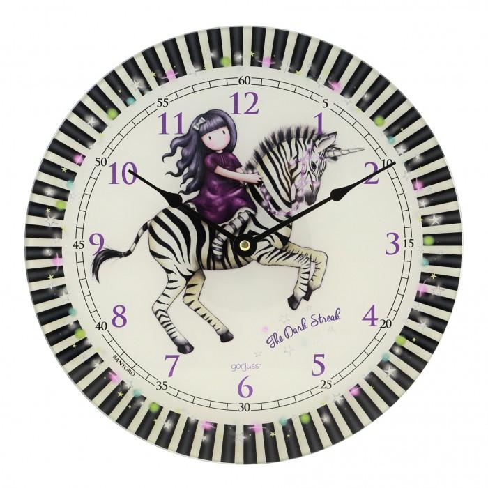 Купить Часы Santoro London Настенные The Dark Streak