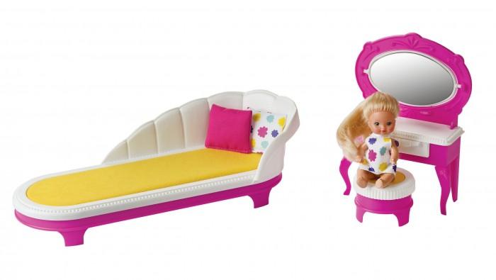 Кукольные домики и мебель Огонек Будуар Зефир стульчик для кукол огонек белые с 1389