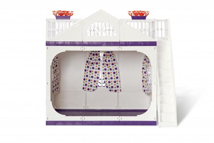 Кукольные домики и мебель Огонек Дачный дом без мебели Конфетти