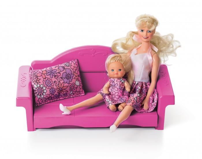 Кукольные домики и мебель Огонек Диван раскладной Зефир