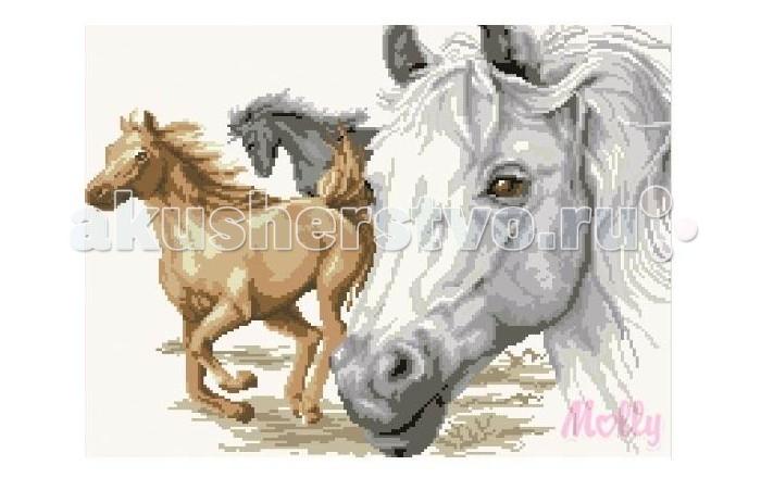 Творчество и хобби , Картины своими руками Molly Мозаичная картина Портрет лошади 40х50 см арт: 82921 -  Картины своими руками