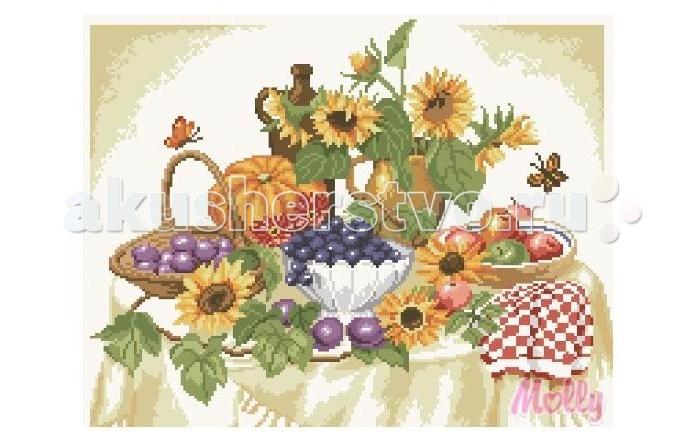 Творчество и хобби , Картины своими руками Molly Мозаичная картина Летом на даче 40х50 см арт: 82933 -  Картины своими руками
