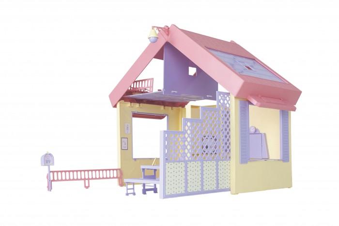 Купить Кукольные домики и мебель, Огонек Складной дом Маленькая принцесса
