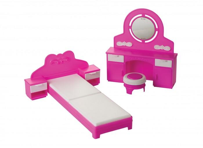 Кукольные домики и мебель Огонек Спальня Зефир
