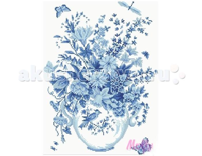 Molly Мозаичная картина В стиле гжель 40х50 см