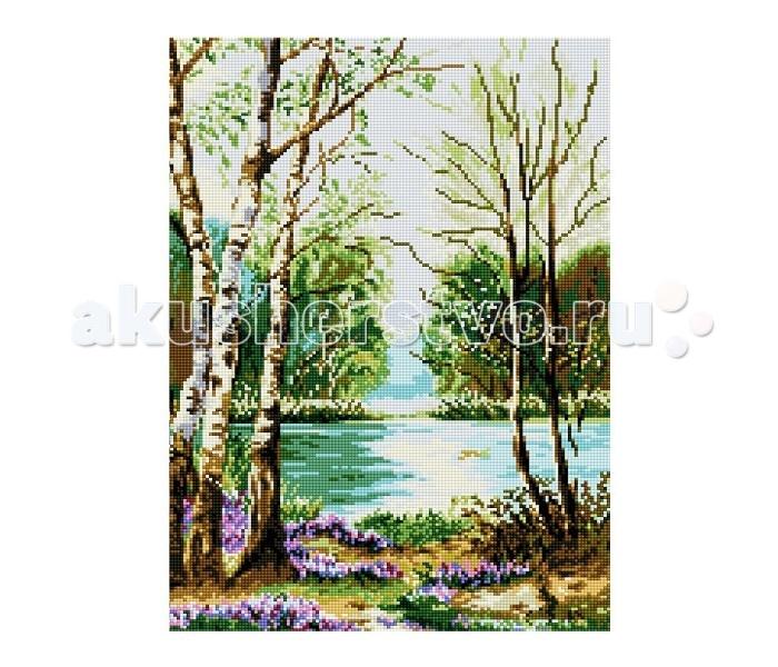 Molly Мозаичная картина Ранняя весна 40х50 см