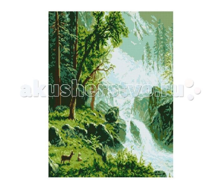 Molly Мозаичная картина Реки Кавказа 40х50 см