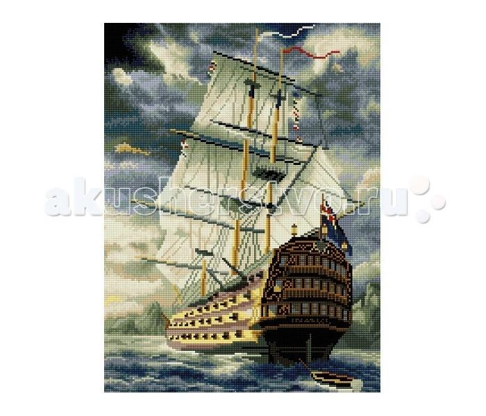 Картины своими руками Molly Мозаичная картина Старинный бриг 40х50 см, Картины своими руками - артикул:83020