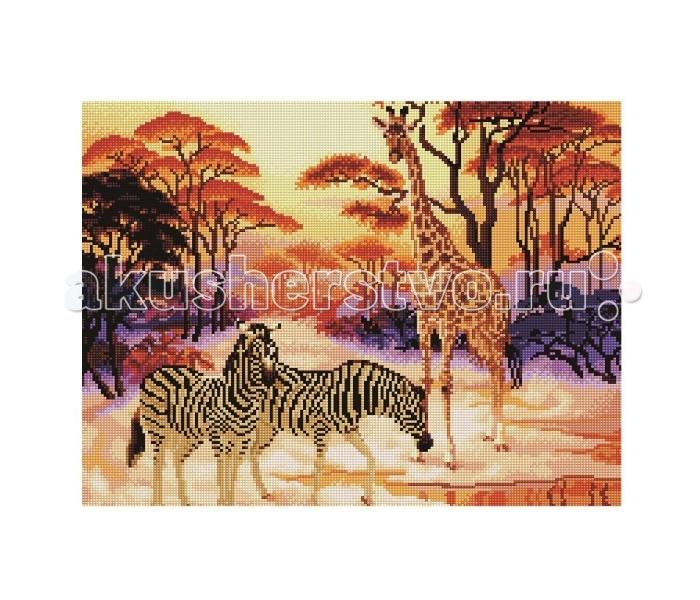 Творчество и хобби , Картины своими руками Molly Мозаичная картина Сафари 40х50 см арт: 83023 -  Картины своими руками