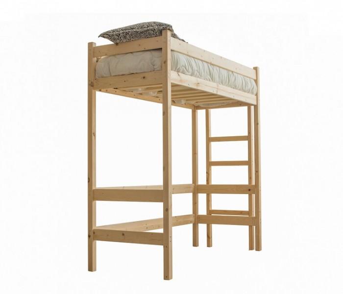 Кровати для подростков Green Mebel Чердак Л1 80х160 см