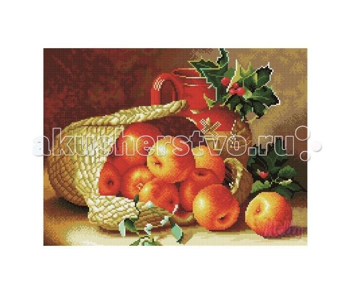 Molly Мозаичная картина Яблочный урожай 40х50 см