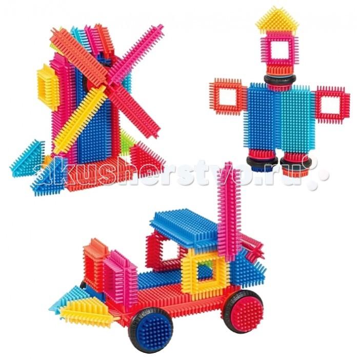 Купить Конструкторы, Конструктор Bristle Blocks игольчатый в коробке 36 деталей