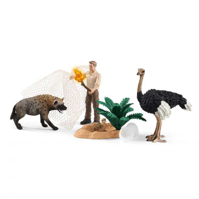 Картинка для Игровые фигурки Schleich Набор фигурок Нападение гиены