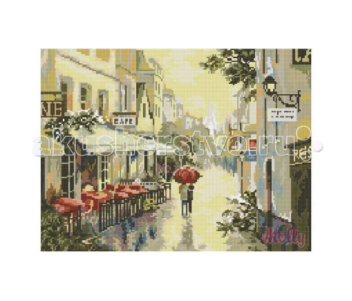 Molly Мозаичная картина Дождливый день 40х50 см